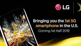 LG está preparando un móvil con 5G para el año que viene