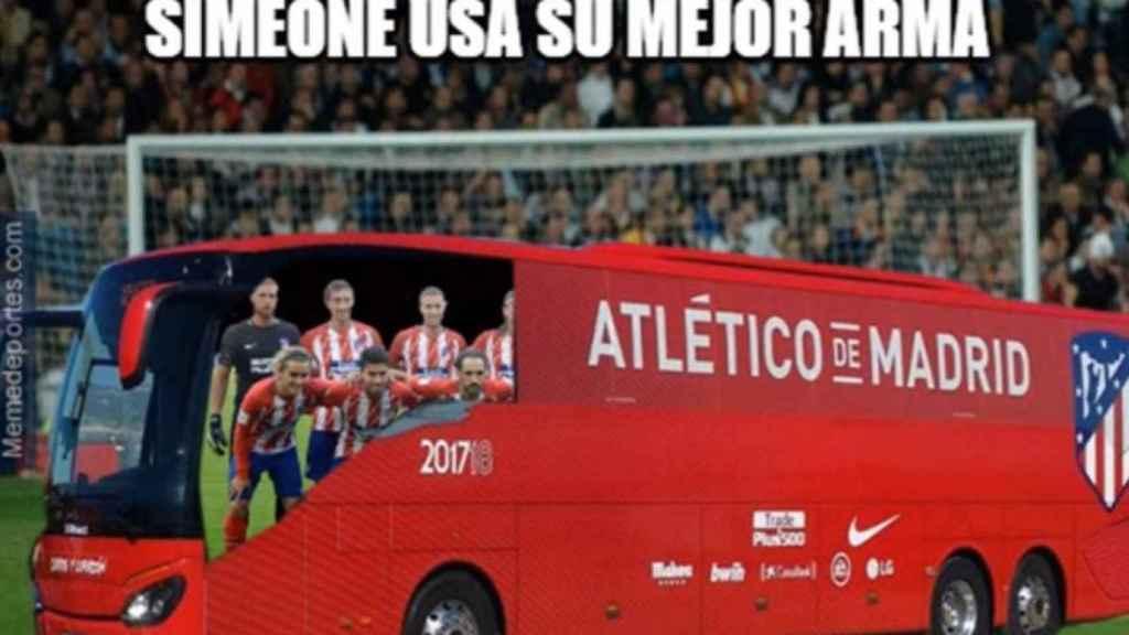 Los mejores memes del Real Madrid - Atlético de Madrid