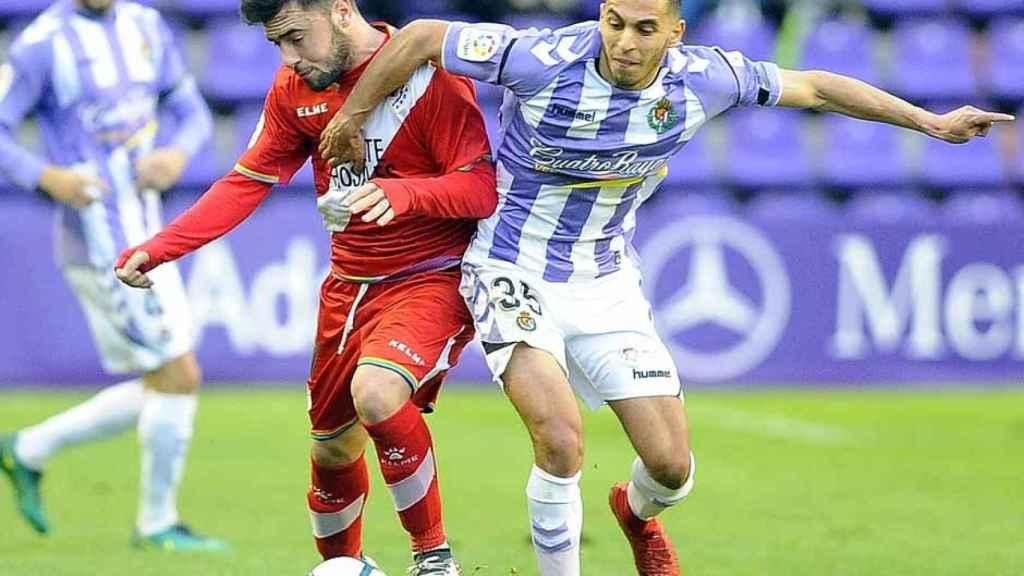 Partido entre el Valladolid y el Rayo Vallecano en la temporada pasada