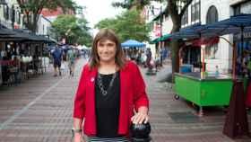 Christine Hallquist, la candidata demócrata en Vermont.