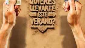 Campaña de Loterías y Apuestas del Estado de este verano para la Lotería de Navidad.