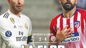 La portada de El Bernabéu (16/08/2018)