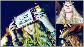 Madonna en un montaje.