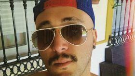 Kiko Rivera luciendo su nuevo 'look' en una foto de sus redes sociales.