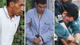 Driss Oukabir, Mohamed Houli Chemlal y Said Ben Iazza, los tres únicos investigados.