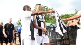 Cristiano Ronaldo, en su debut con la Juventus.