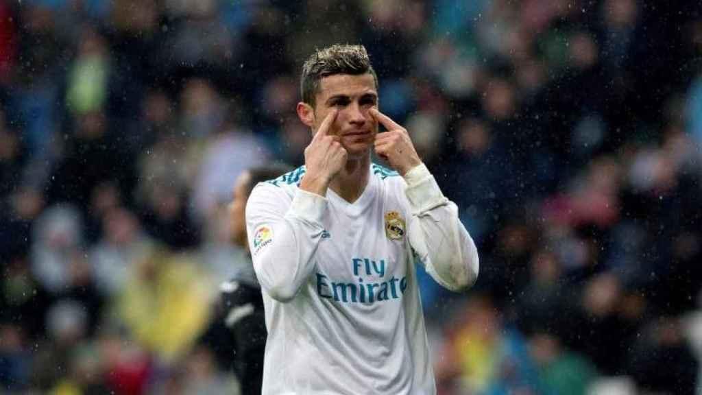 Ronaldo, durante un partido de la pasada temporada.