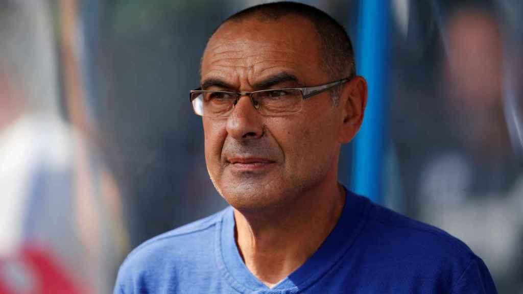 Sarri, entrenador del Chelsea