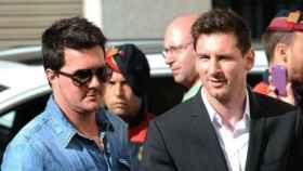Matías Messi, hermano de Leo Messi.