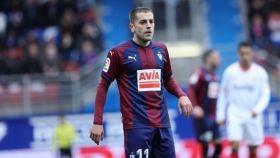 Rubén Peña, jugador del Eibar. Foto: sdeibar.com