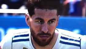 Simulación de Ramos en el FIFA 19