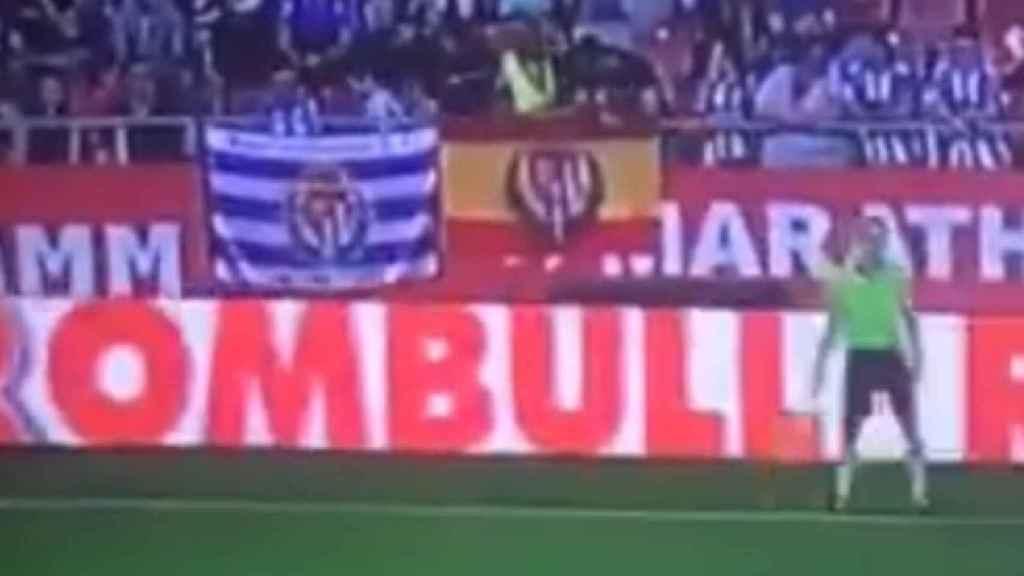 Banderas en Montilivi