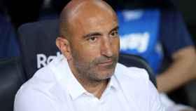Abelardo Fernandez, entrenador del Deportivo Alavés
