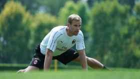 Strinic entrena con el Milan. Foto:acmilan.com