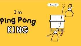 I'm Ping Pong King: la versión más minimalista de este bello deporte