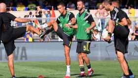 Las mejores imágenes del debut de Cristiano Ronaldo con la Juventus