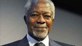 Kofi Annan en una imagen de archivo.