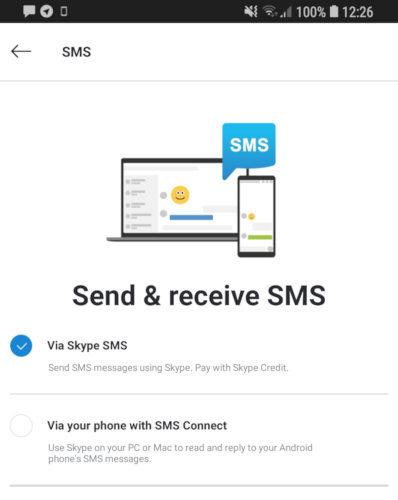 skype sms 1