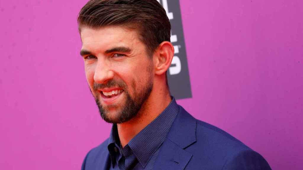 Michael Phelps, en un acto deportivo el año pasado.