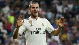 Gareth Bale, celebrando un gol