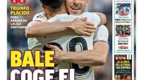 Portada del diario MARCA (20/08/2018)