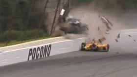 Gravísimo accidente de un piloto de la Indycar