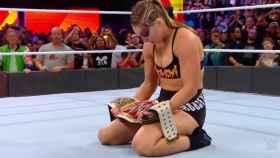 Ronda Rousey, campeona de la WWE.