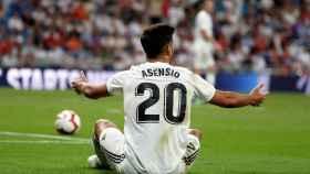 Asensio, durante el partido ante el Getafe.