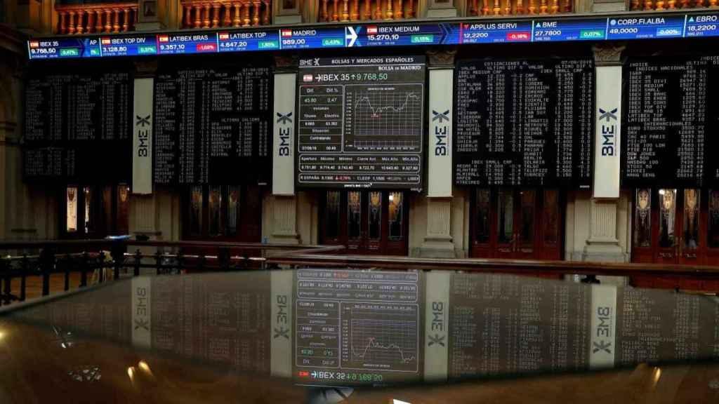 Bolsa de Madrid, imagen de archivo.