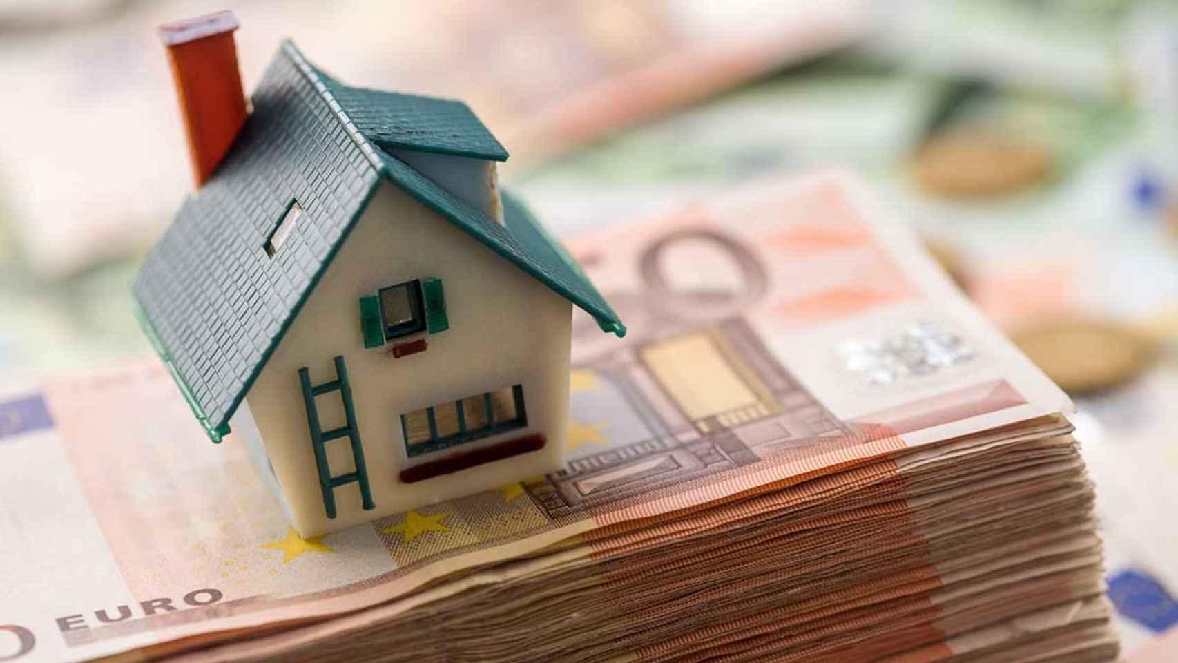 Ilustración sobre el mercado de la vivienda.