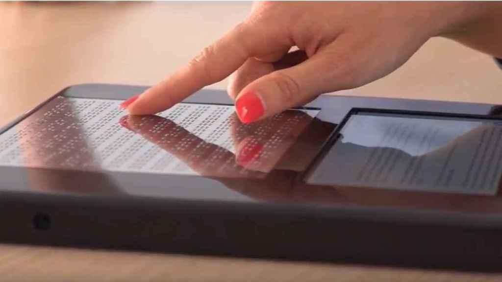 BLITAB, el iPad para invidentes de Kristina Tsvetanova