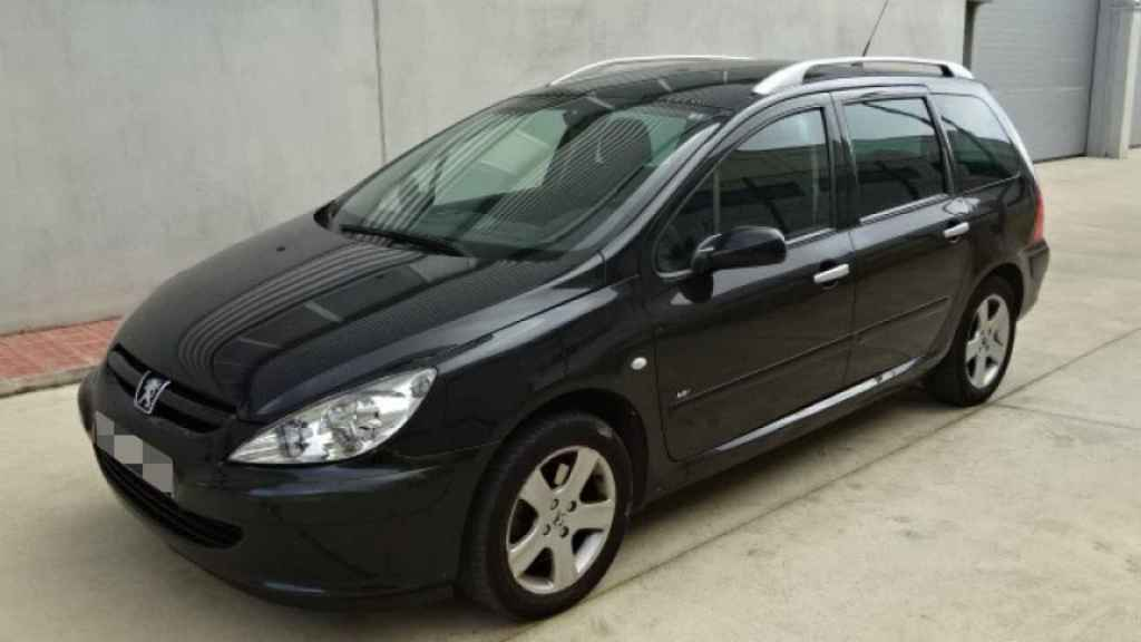 Peugeot 307 negro