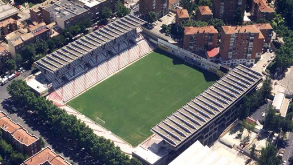 Estadio de Vallecas. Foto: rayovallecano.es