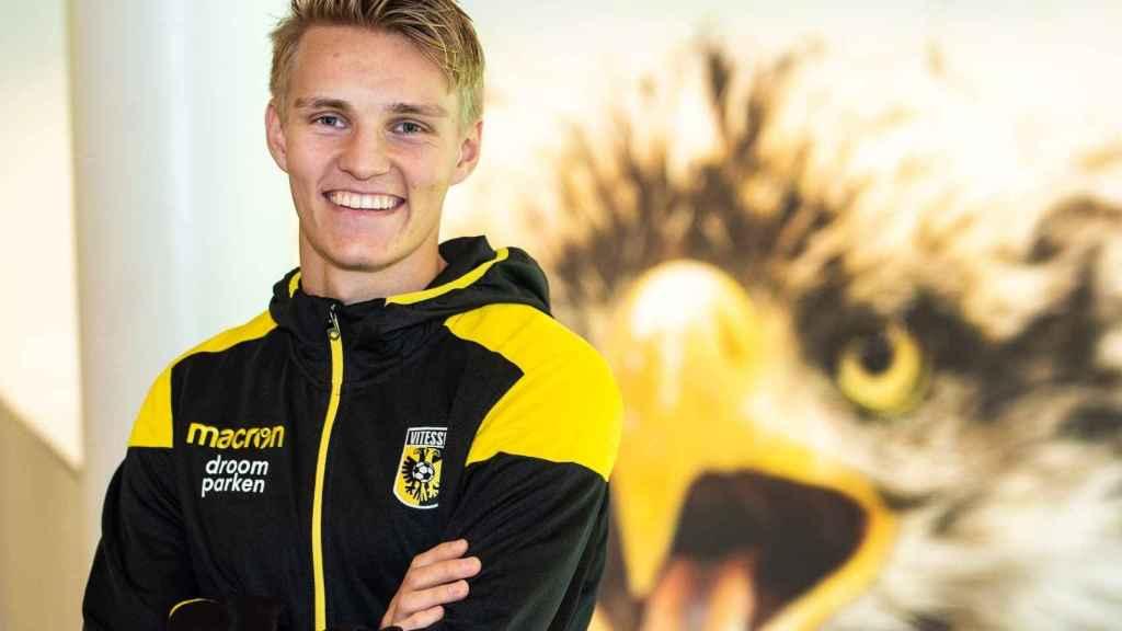 Odegaard, cedido al Vitesse. Foto: vitesse.nl