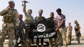 Combatientes del Estado Islámico, en una imagen de archivo.
