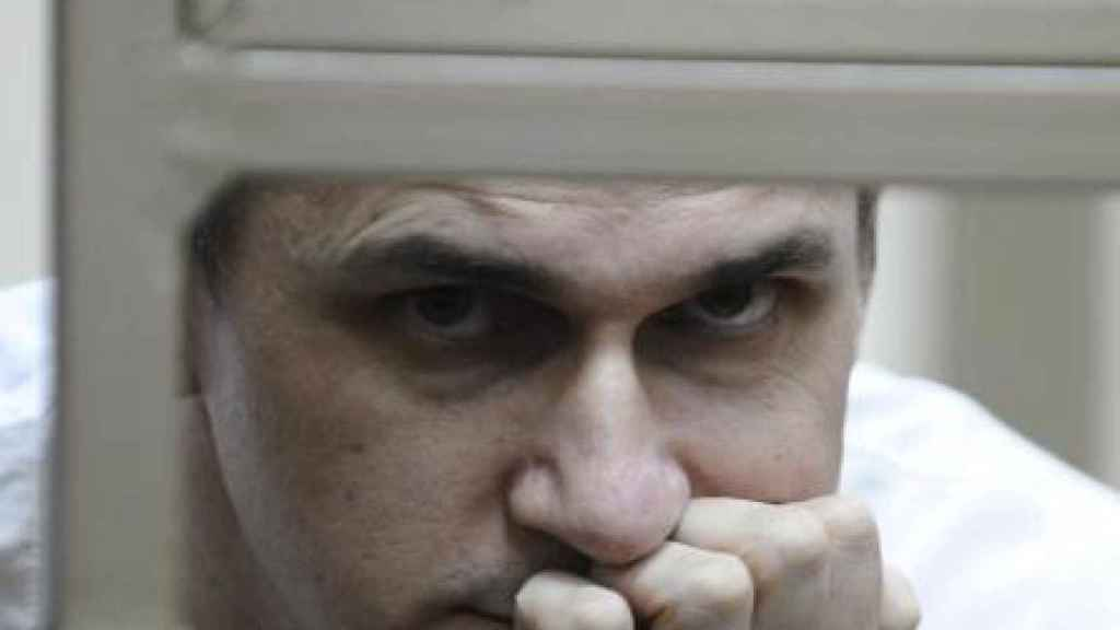 Oleg Sentsov, el cineasta ucraniano preso en Rusia.