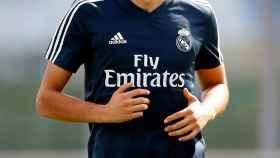 Vallejo se entrena en solitario en la Ciudad Real Madrid