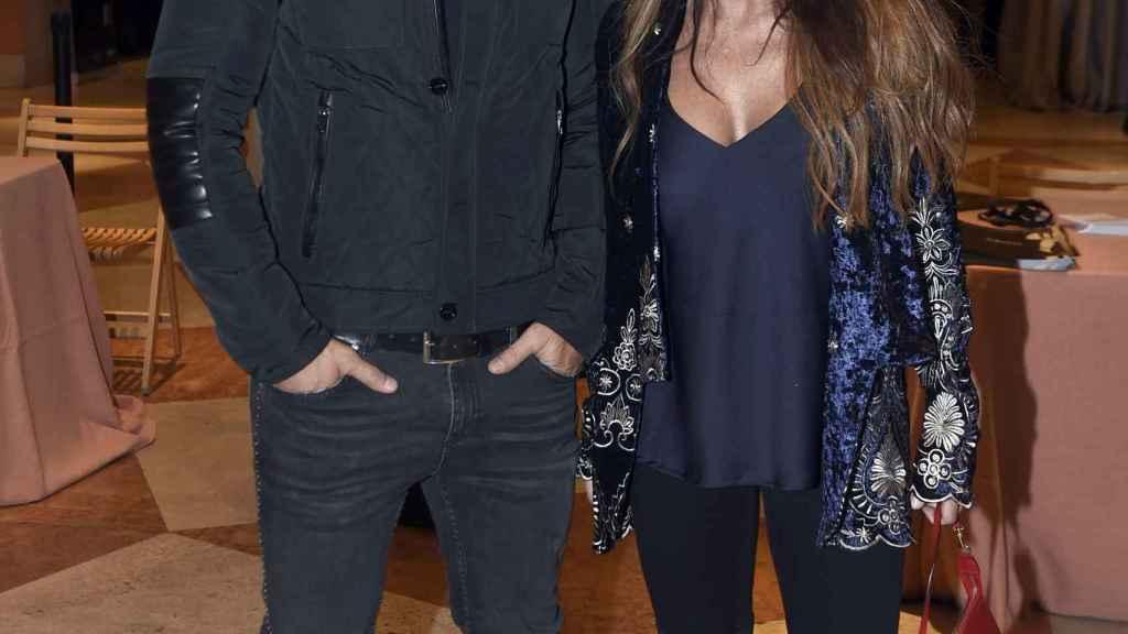 María Patiño y Ricardo Rodríguez en una imagen de archivo.