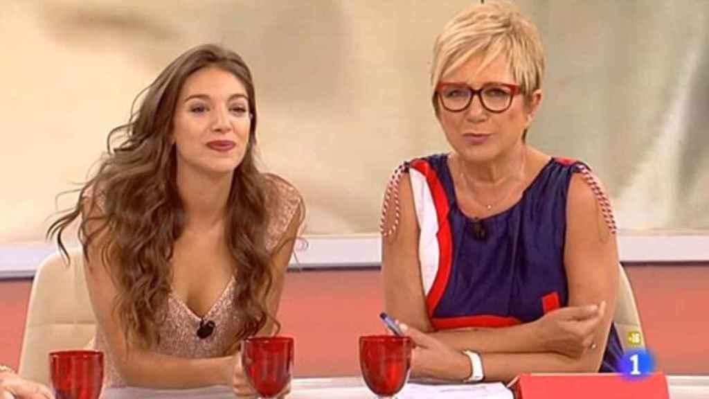 Ana Guerra e Inés Ballester en Amigas y conocidas, una de las polémicas más sonadas.