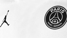 Air Jordan y PSG, juntos en la misma camiseta.
