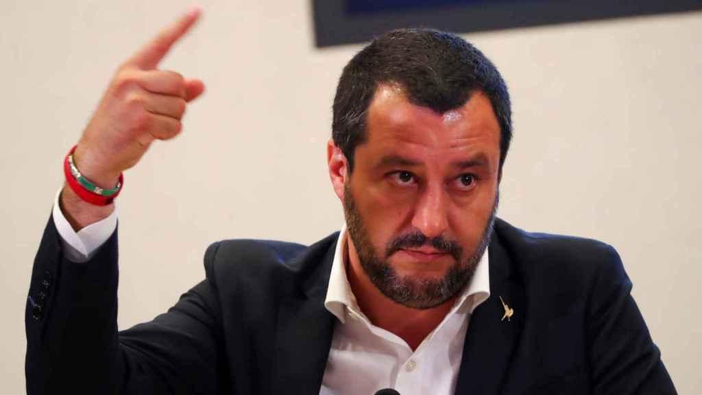 El ministro del Interior, Matteo Salvini