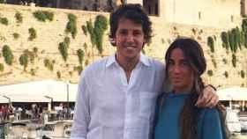 Silvia López-Madrid junto a su futuro marido Pablo Valdenebro.