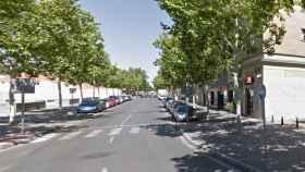 FOTO: Un paso de peatones en la Avenida Tablas de Daimiel (Google)