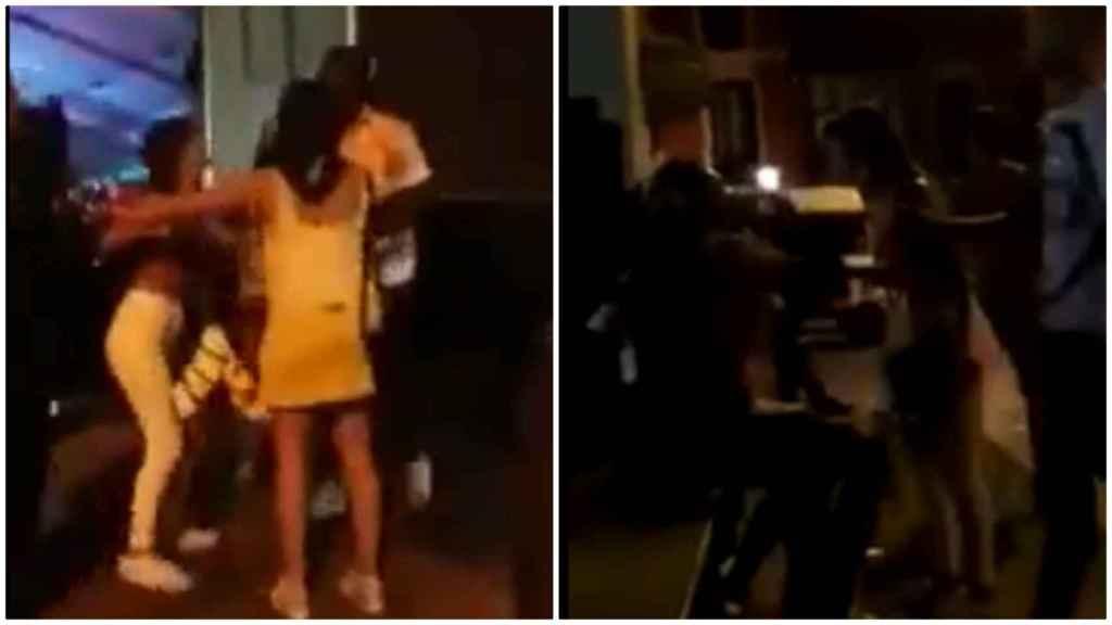 Iñaki Williams y su novia se pelean en plena calle