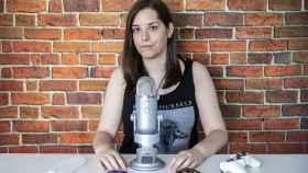 Iris, conocida en la red como Alternatiive ASMR, en su entrevista para EL ESPAÑOL