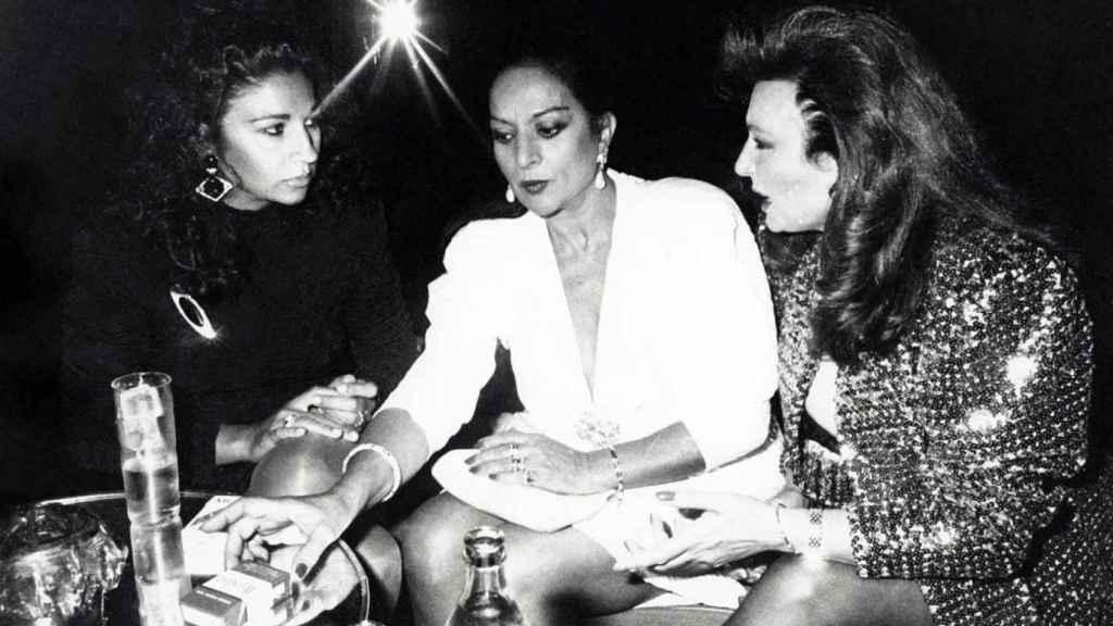 Lolita, Lola Flores y Rocío Jurado