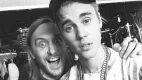 David Guetta junto a Justin Bieber