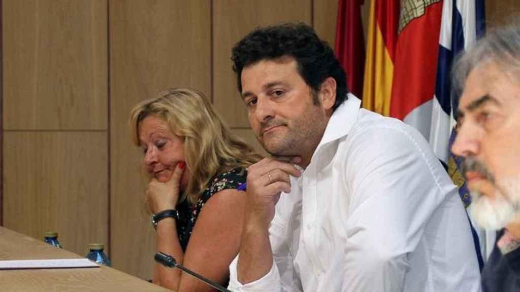Manuel García, alcalde de Villaquilambre.