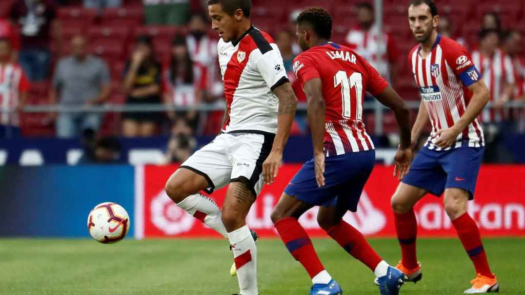 Las mejores imágenes del Atlético de Madrid - Rayo Vallecano