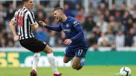 Kovacic durante un choque frente al Newcastle